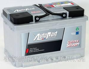 Аккумулятор автомобильный Autopart Galaxy Silver 78AH R+ 760А