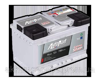 Акумулятор автомобільний Autopart Silver 88AH R+ 800А