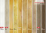 Стеновая ламинированная панель МДФ Омис, коллекция Стандарт 148мм*5,5мм*2600мм цвет дуб закарпатский, фото 9