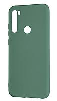 Чехол Silicone Case для Xiaomi Redmi Note 8T оливковый (ксиоми редми нот 8т)