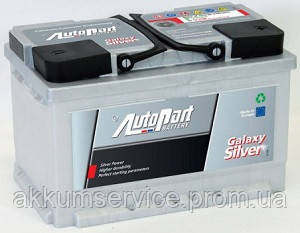 Аккумулятор автомобильный Autopart Galaxy Silver 62AH R+ 600А