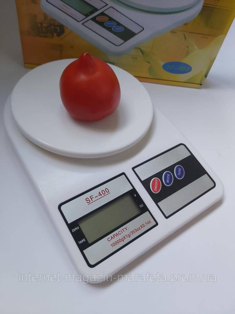 Кухонные электронные весы SF-400 с жидкокристалическим дисплеем