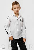 Шкільна сорочка на хлопчика, фото 3