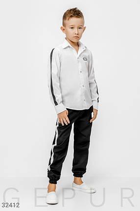 Шкільна сорочка на хлопчика, фото 2