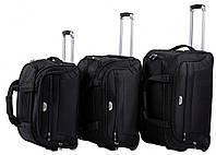 Набір дорожніх сумок на колесах 3в1 Wings, фото 1