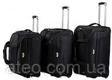 Набір дорожніх сумок на колесах 3в1 Wings