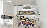 Наклейка на стол Zatarga «Фото» 600х1200мм для домов, квартир, столов, кофейн, кафе