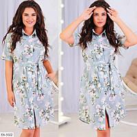 Стильное платье   (размеры 50-56) 0250-89