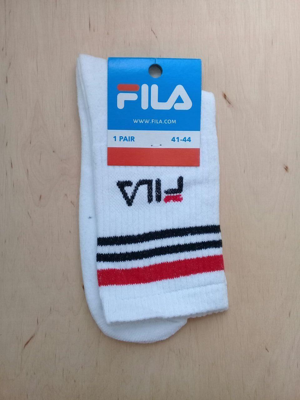 Модные молодежные высокие  носки FILA