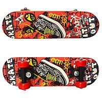 Скейтборд детский Profi MS 0324-1 размер 43х13см Нагрузка до 20кг