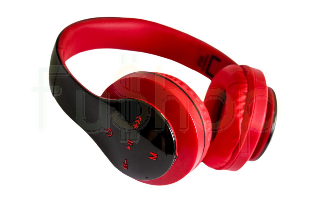 Беспроводные Bluetooth наушники с микрофоном P35  FM, MP3 (качество)