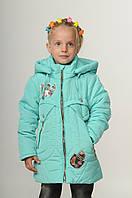 Детская демисезонная курточка для девочки интернет магазин 20-28 Мята