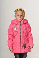 Детская демисезонная курточка для девочки интернет магазин 20-28 Малина