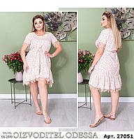 Стильное платье    (размеры 50-58) 0251-19