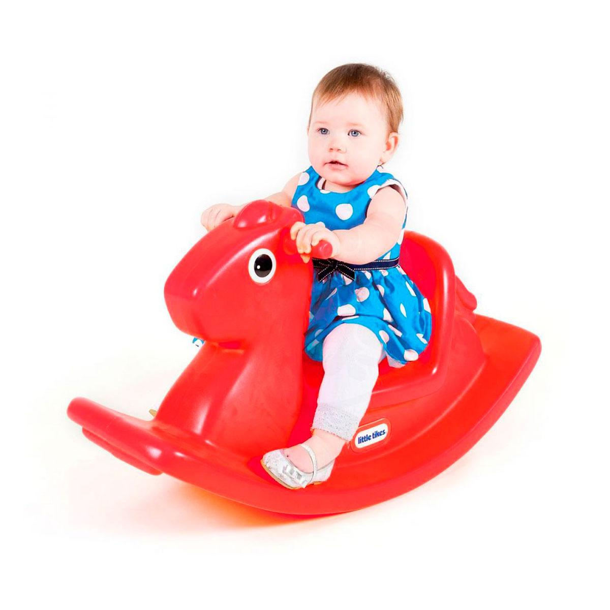 Качалка Little Tikes Веселая лошадка  красная  (167000072)