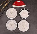 Кондитерский нож-ролик для теста с насадками Dough Prep Set, фото 2