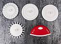 Кондитерский нож-ролик для теста с насадками Dough Prep Set, фото 5