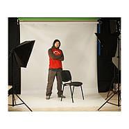 2.5/2.75 G*5м Фотофон білий вініловий для потолочно-настінних кріплень Super Matt VINIL BD-PRO White, фото 2
