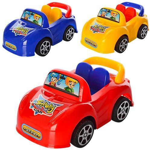 Машинка 2262  инер-я, 11см, 3 цвета, в кульке, 11-15-5см