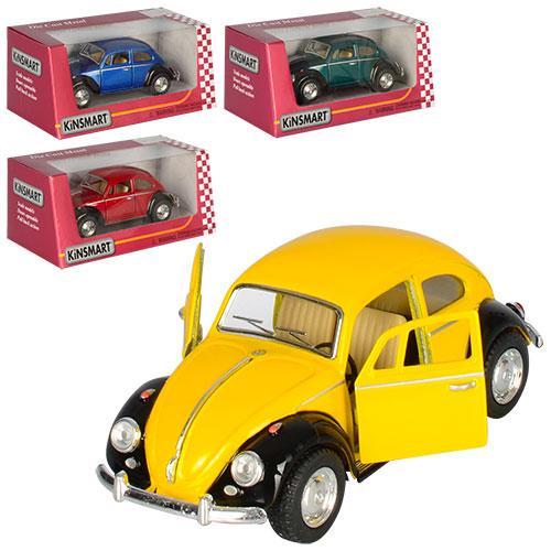 Машинка KT5057WE  металл, инер-я, 1:32, 12,5см, откр.дв, рез.колеса,4цвета,в кор-ке,16-7-8см