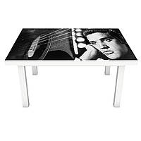 Наклейка на стол Zatarga «Элвис » 650х1200мм для домов, квартир, столов, кофейн, кафе