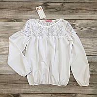 Блузка детская, блуза для девочек . рост 122-152
