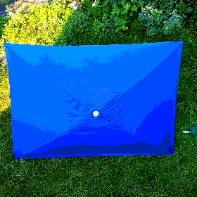 Зонт торговий синій 2х3м
