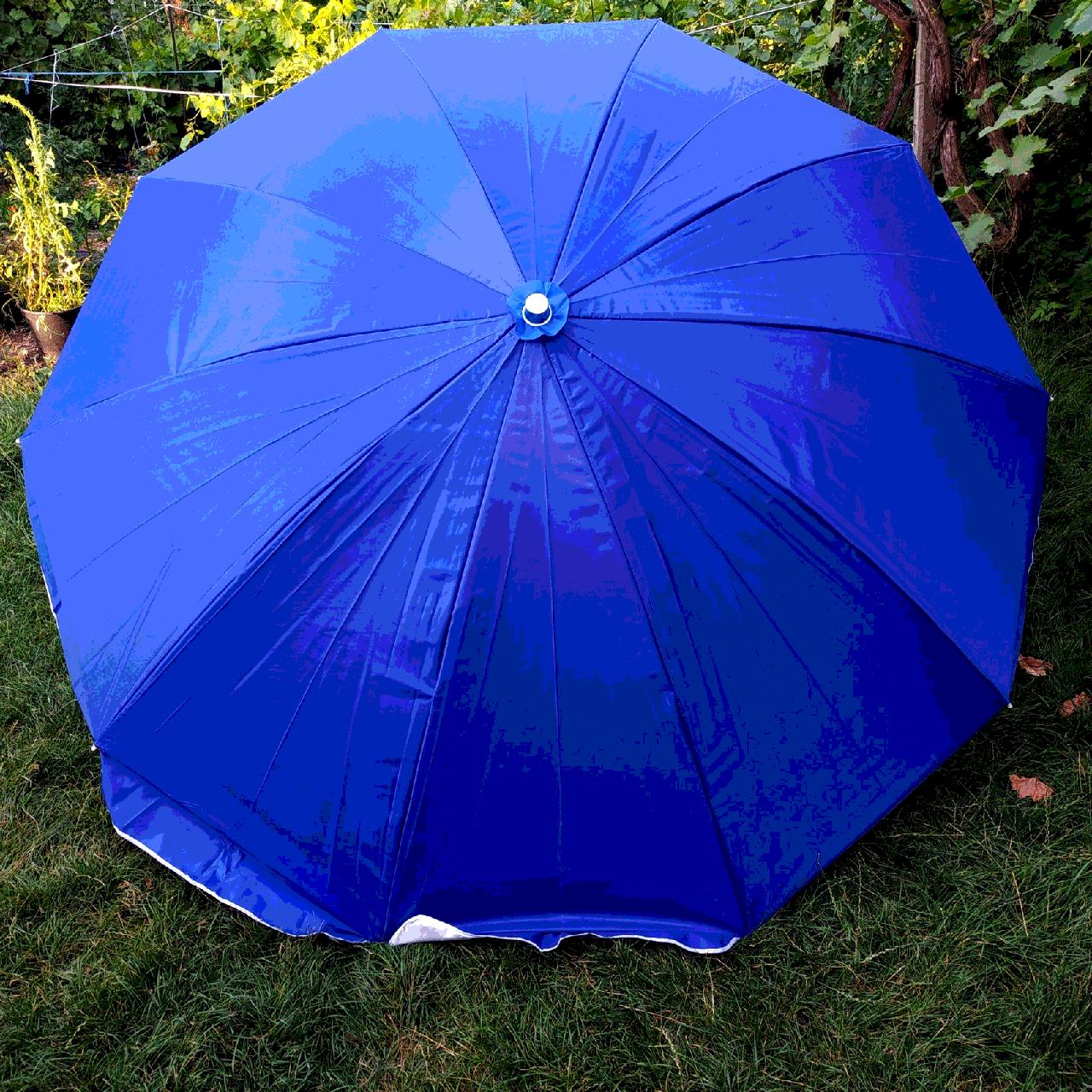 Зонт пляжный Blue 2,5 метра