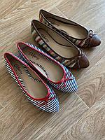 Балетки, туфли женские, 37 р (2 ПАРЫ ПО ЦЕНЕ 1)