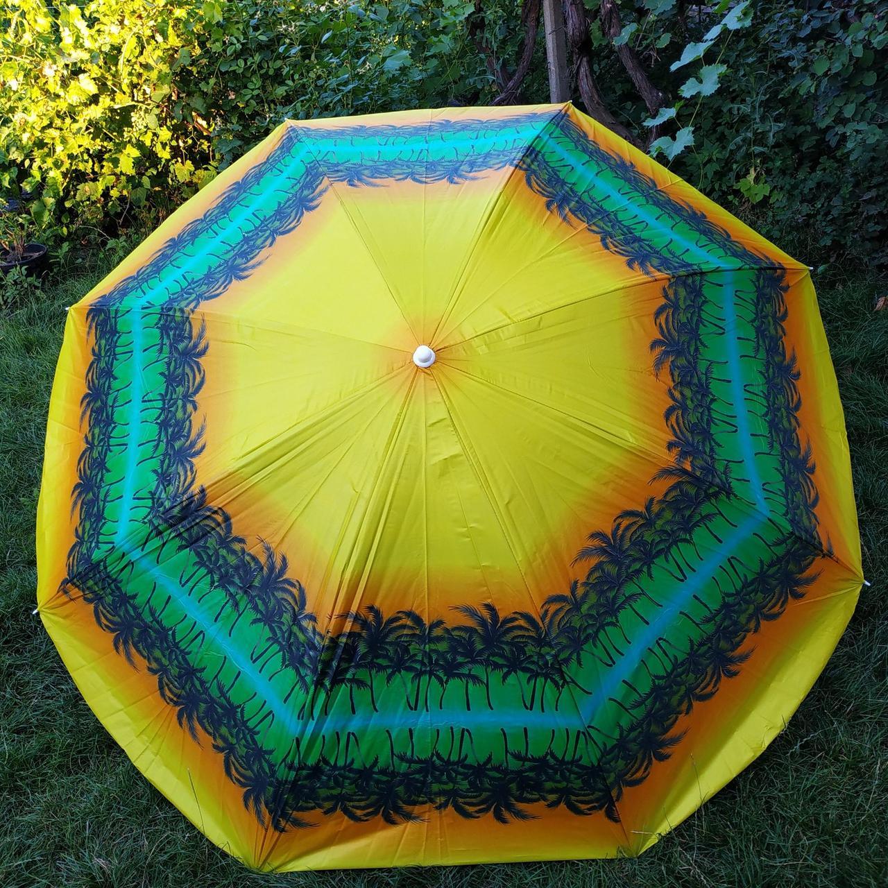 Пляжный зонт 2а 2,2метра усиленный
