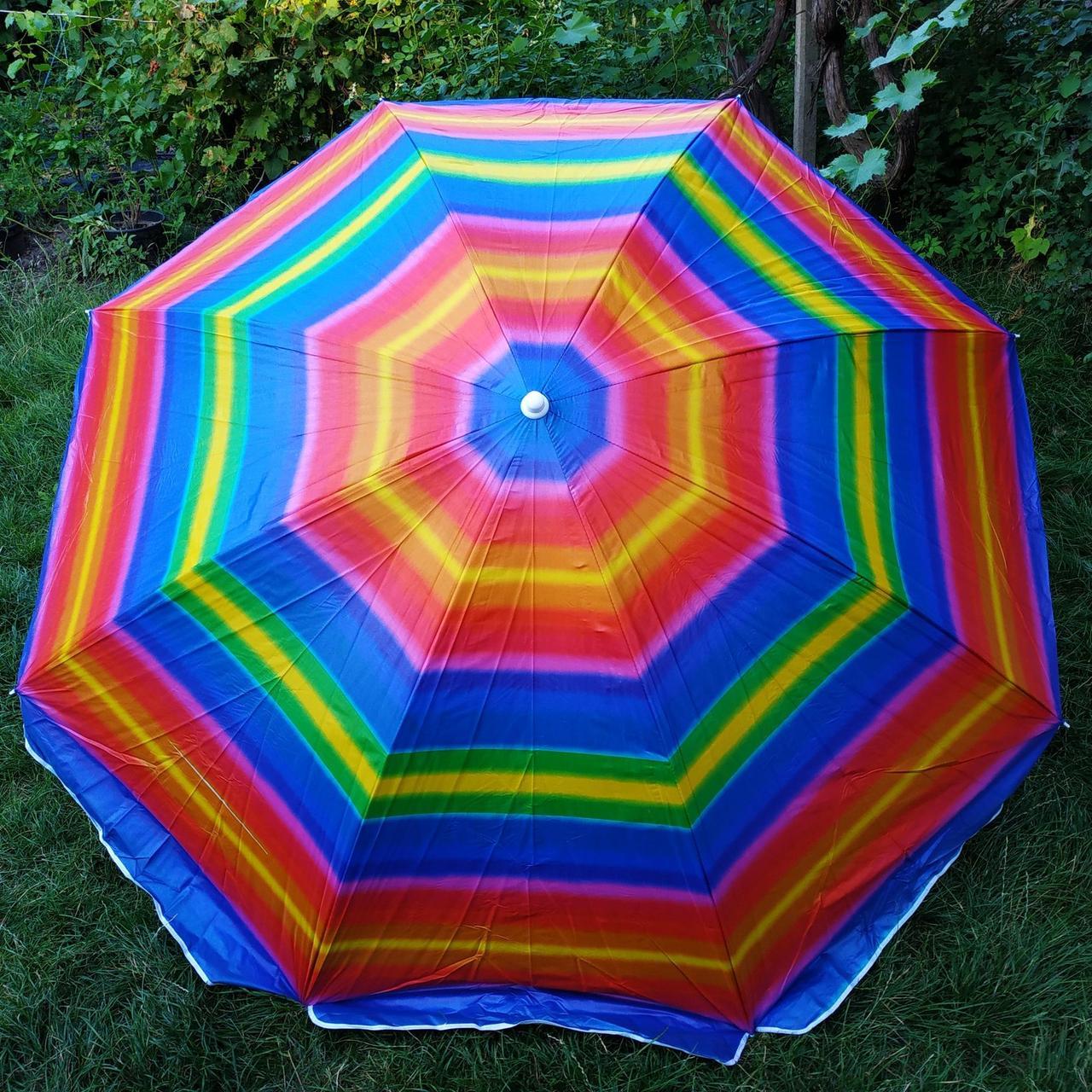 Пляжный зонт 6а 2,2метра усиленный