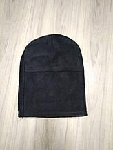 Военная зимняя балаклава-ниндзя (черный)