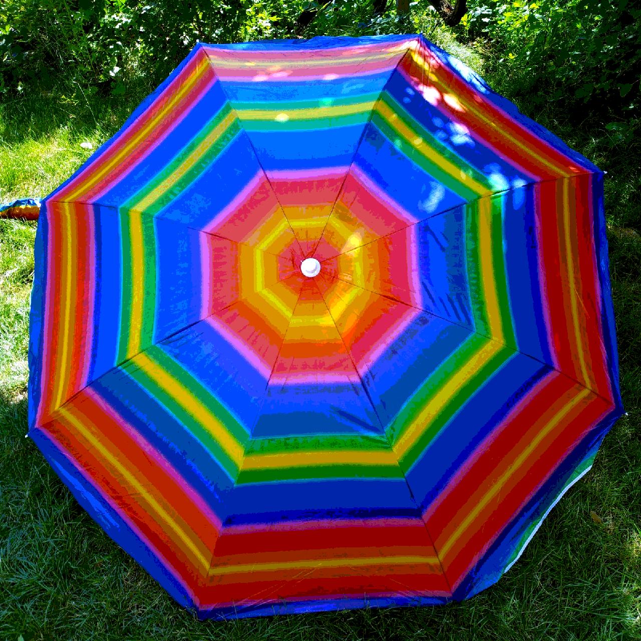 Пляжный зонт 2метра цвет№5а