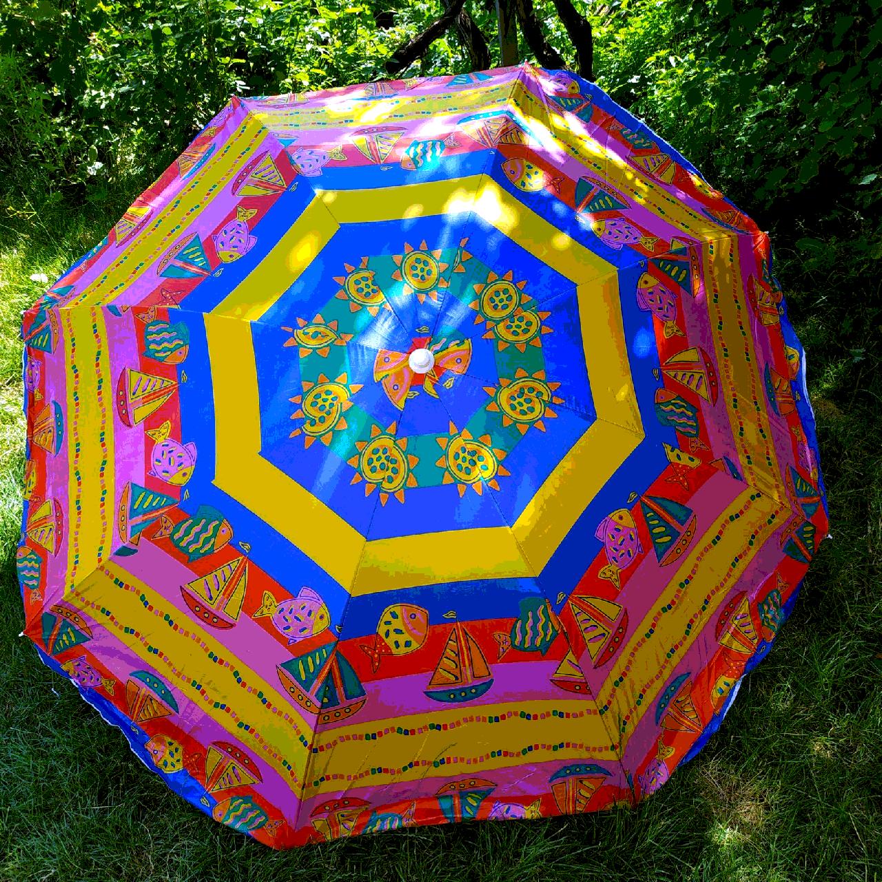 Пляжний зонт 2метра колір№ 8а