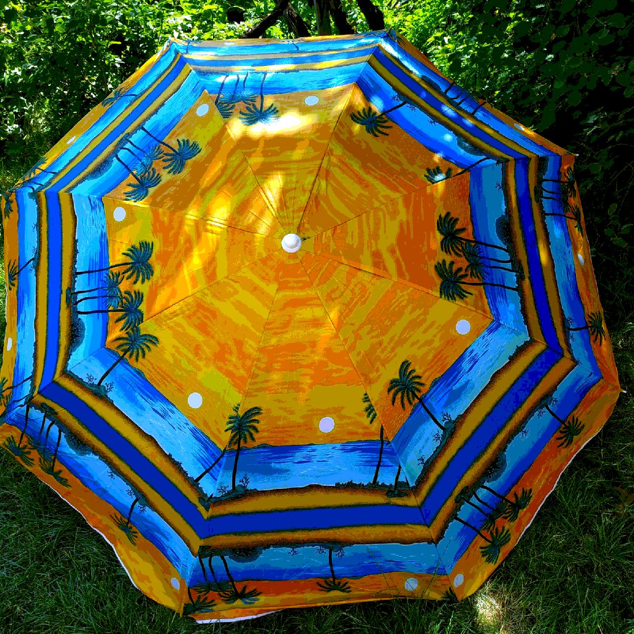 Пляжный зонт 2 метра цвет№9а