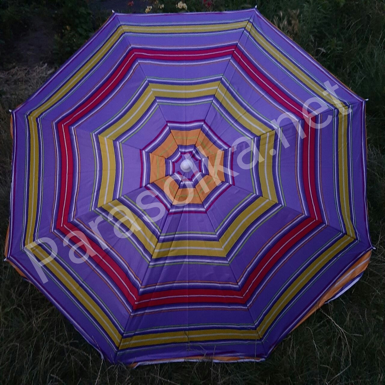Зонт пляжний 6в 1,8 метра посилений
