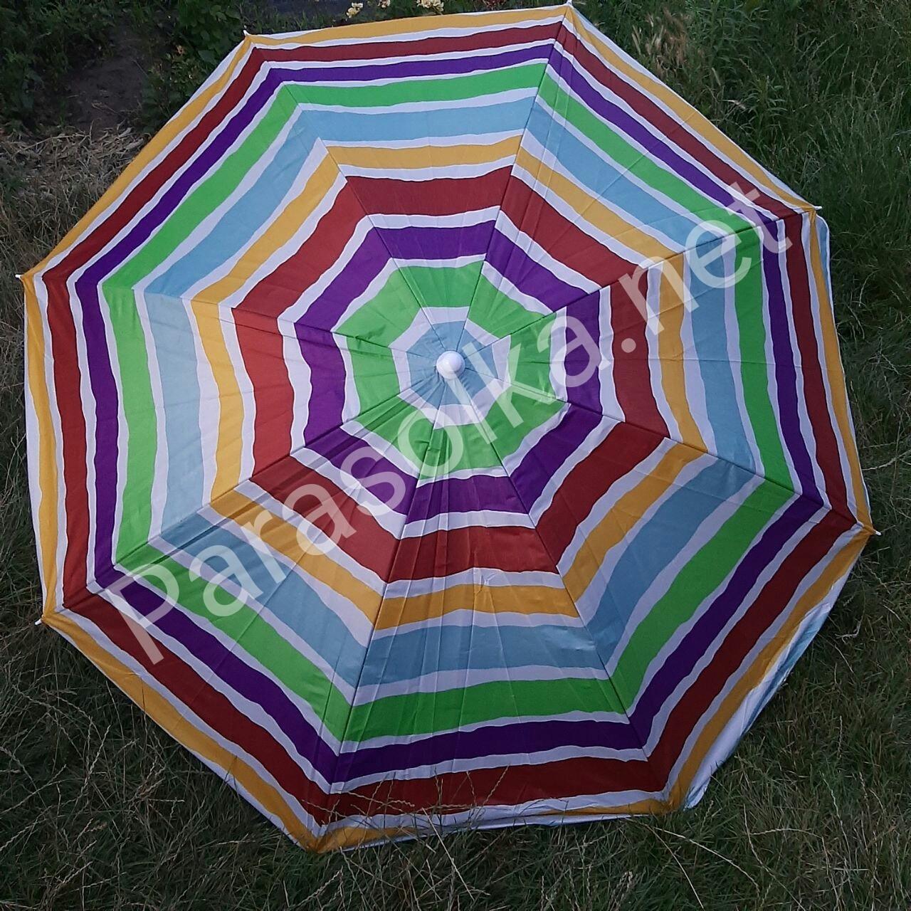 Зонт пляжный 7в  1,8 метра усиленный