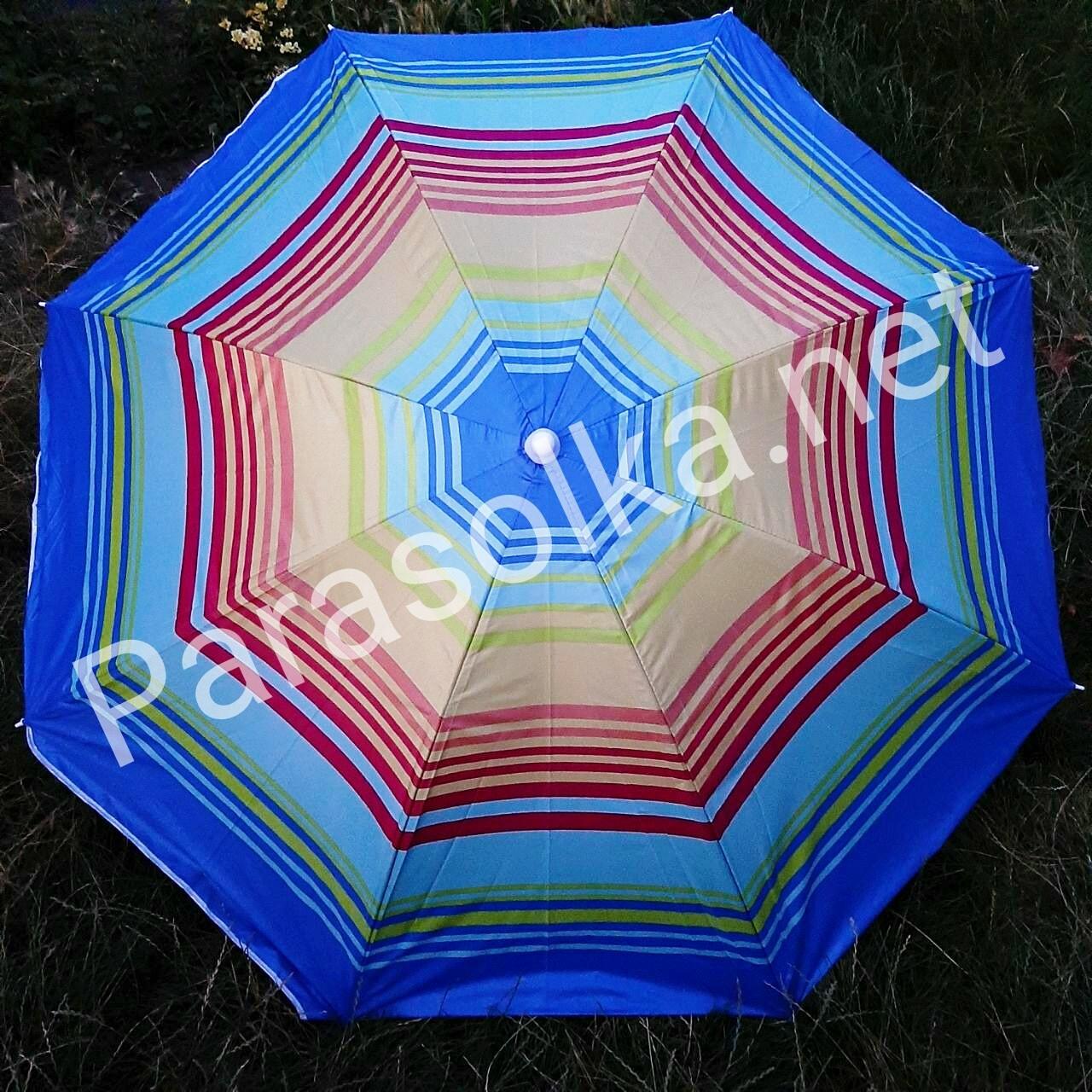 Зонт пляжный 22в  1,8 метра усиленный
