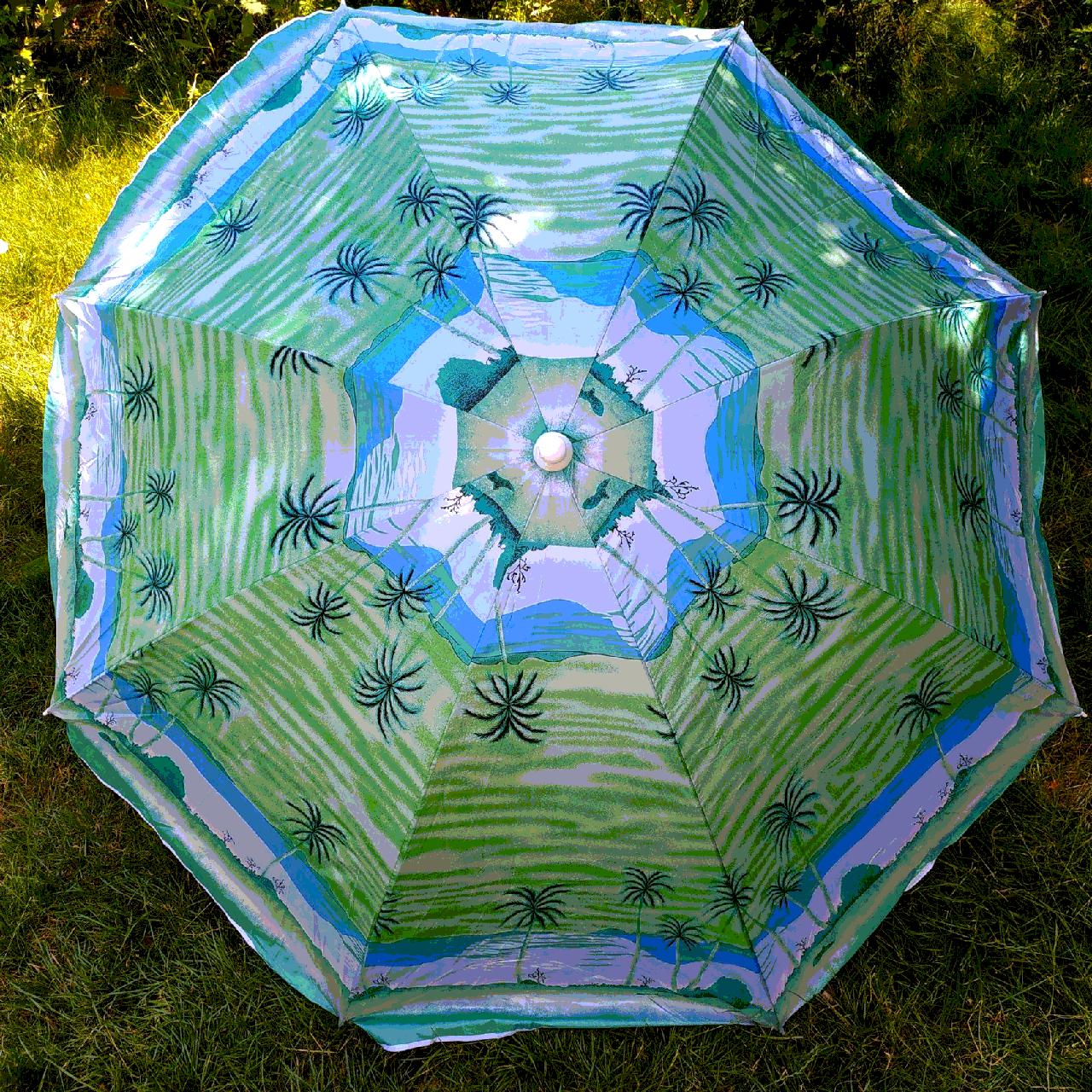 Зонт пляжний 4а 1,8 метра посилений