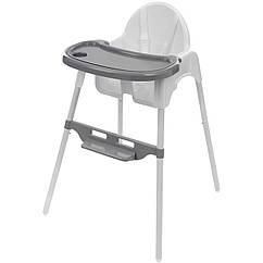 Высокий стул для кормления Kindereo Белый