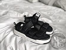 Чоловічі сандалі New Balance Beach Couple Sports Sandals Black White, фото 3
