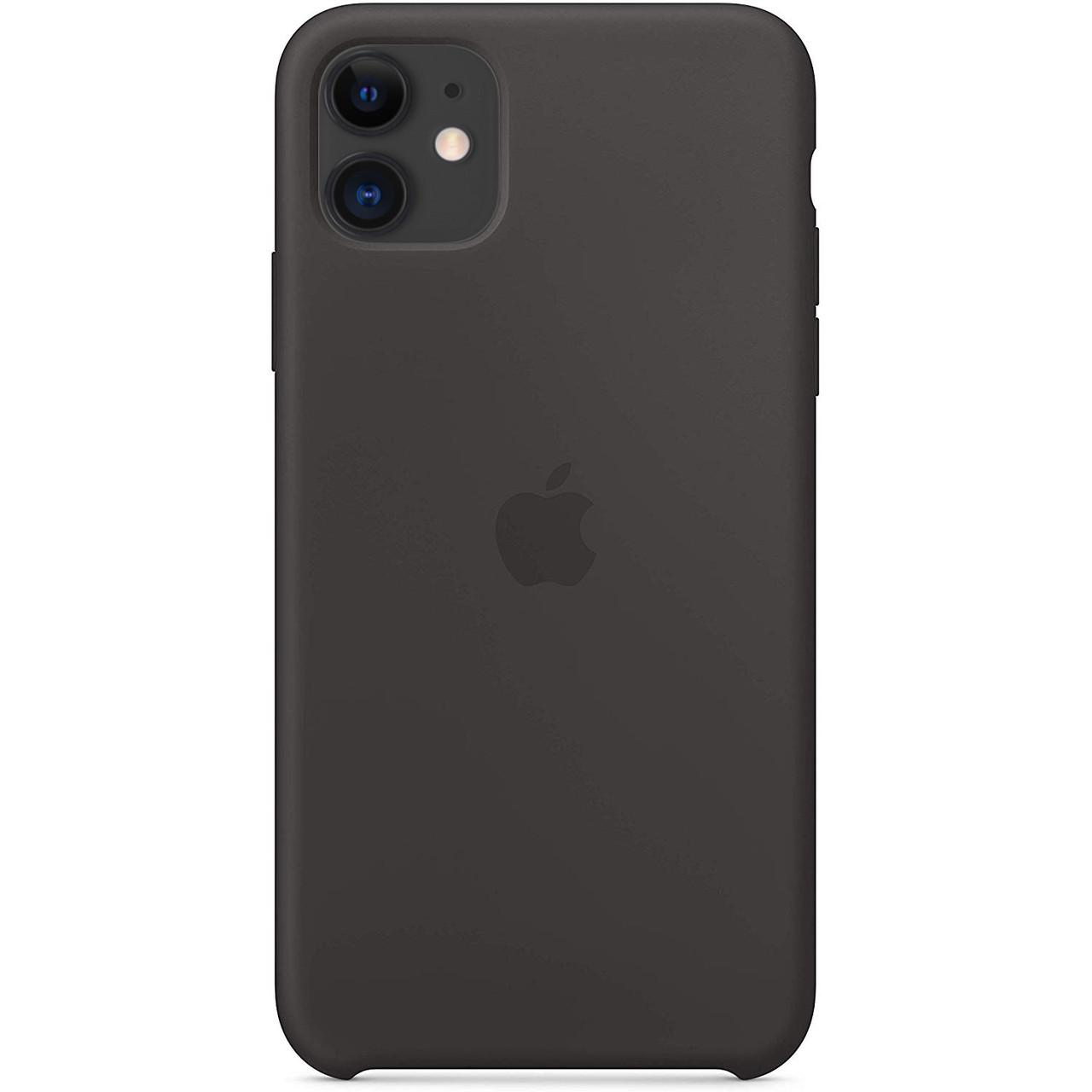 "Чехол Silicone case (AAA) для Apple iPhone 11 (6.1"") Черный / Black"