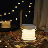 """Світлодіодний нічник складаний """"Телескопічний"""" 3DTOYSLAMP, фото 3"""