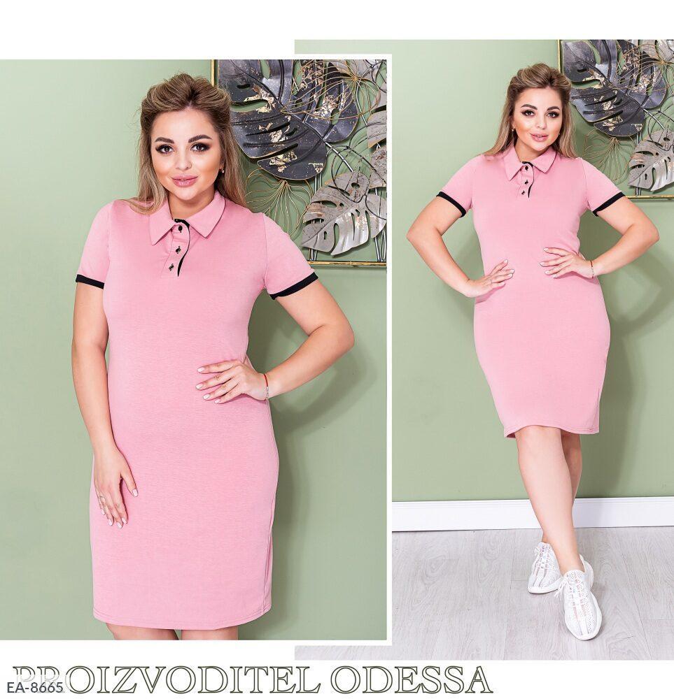 Стильное платье    (размеры 48-58) 0251-58