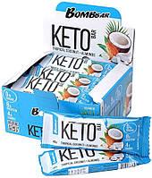 Протеиновый батончик Bombbar KETO  вкус Тропический Кокос и Миндаль (40 грамм)