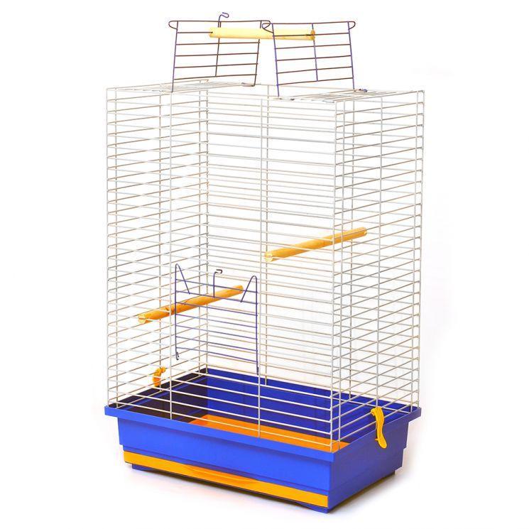 "Клетка для птиц ""Нимфа"" цинк 48*31*66 см"