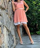 Красивое нежное женское платье