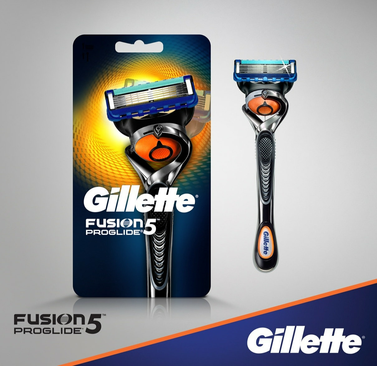 Бритвений станок GILLETTE FUSION 5 PROGLIDE FLEXBALL Жилет Ф'южн 5 Проглайд