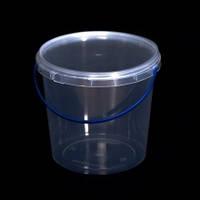 Ведро пластиковое пищевое, для меда 1 л. Упаковка (200 шт.)
