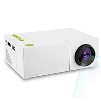 Мультимедийный мини проектор YG-310 White